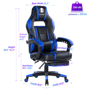 Killabee Reclining Gaming Chair