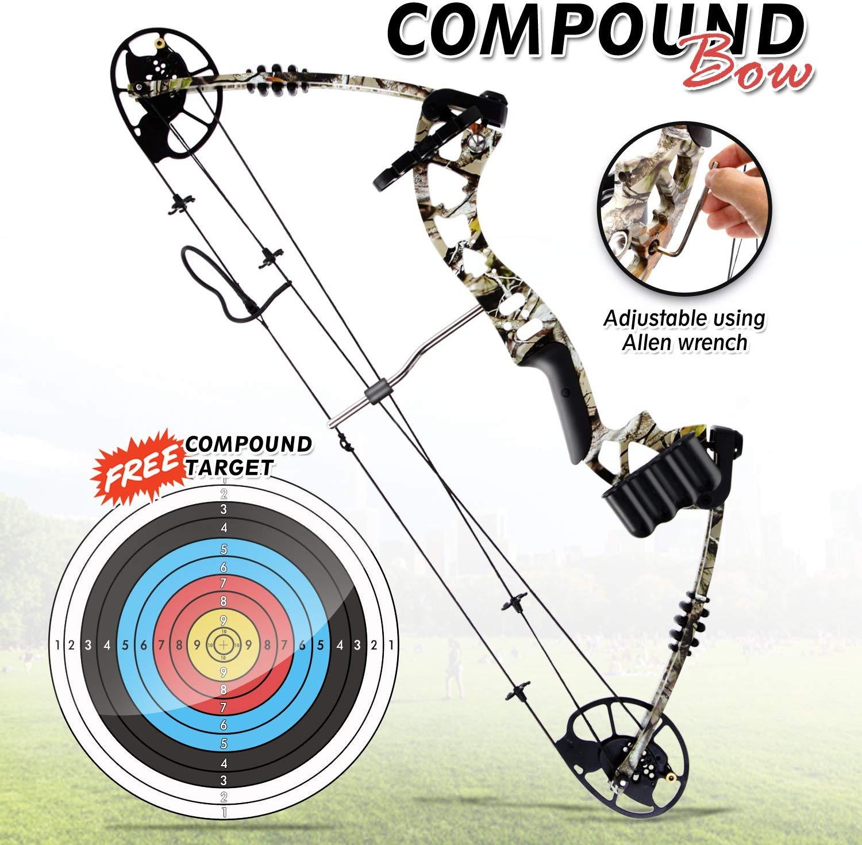 Sharp Eye Camouflage Compound Bow