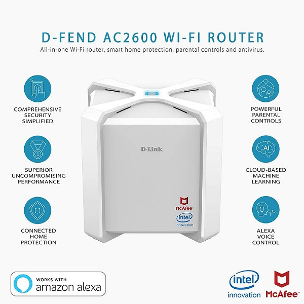 D-Link AC2600 WiFi Router
